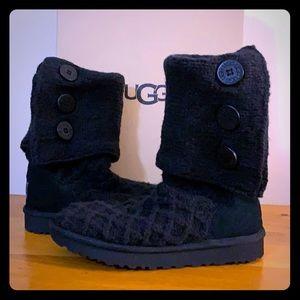 6b5100dee UGG. 🆕UGG Black Lattice Cardy Size 9